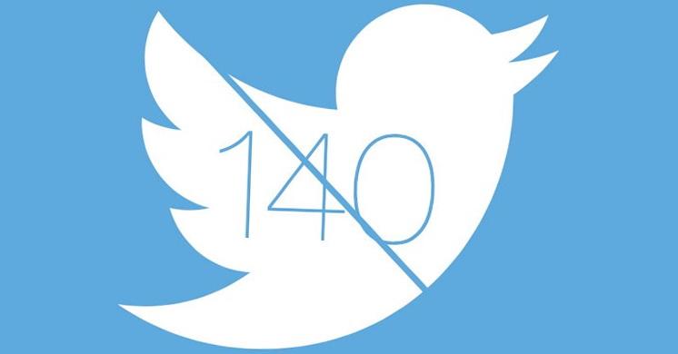 ограничение в 140 символов Twitter